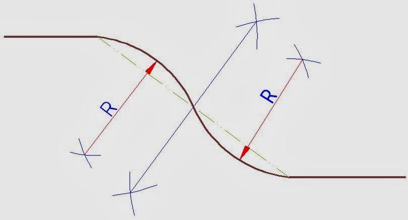 Epras11: Contoh 1 Menghubungkan dua garis ( Gartek Manual )