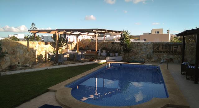 Kalufa Surf Camp; El Cuchillo, Lanzarote