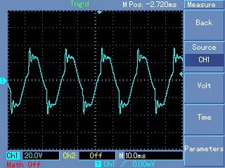 modified sinewave waveform confirmation