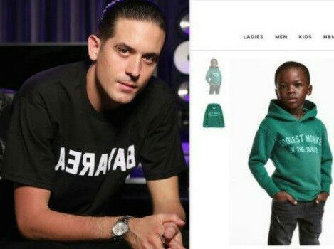 G Eazy Terminates Contract with H&M over trending,coolest monkey in the Jungle,