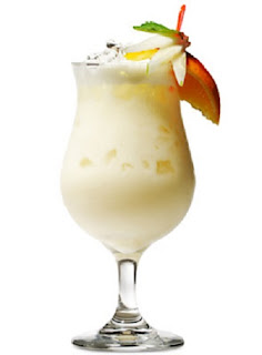 tropical cream cocktail