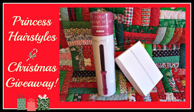 2016 Holiday Giveaway. iPad mini and Nume Curling Wand from Princess Hairstyles