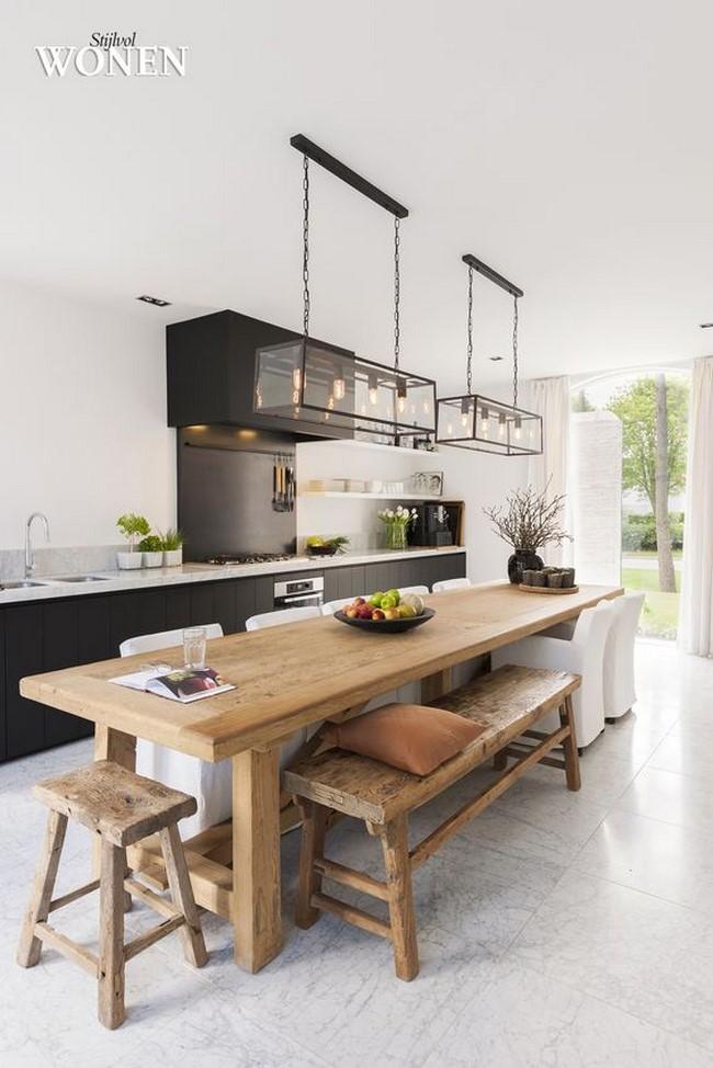 17 fotos de cocinas decoradas para inspirarte for Cocinas decoradas sencillas