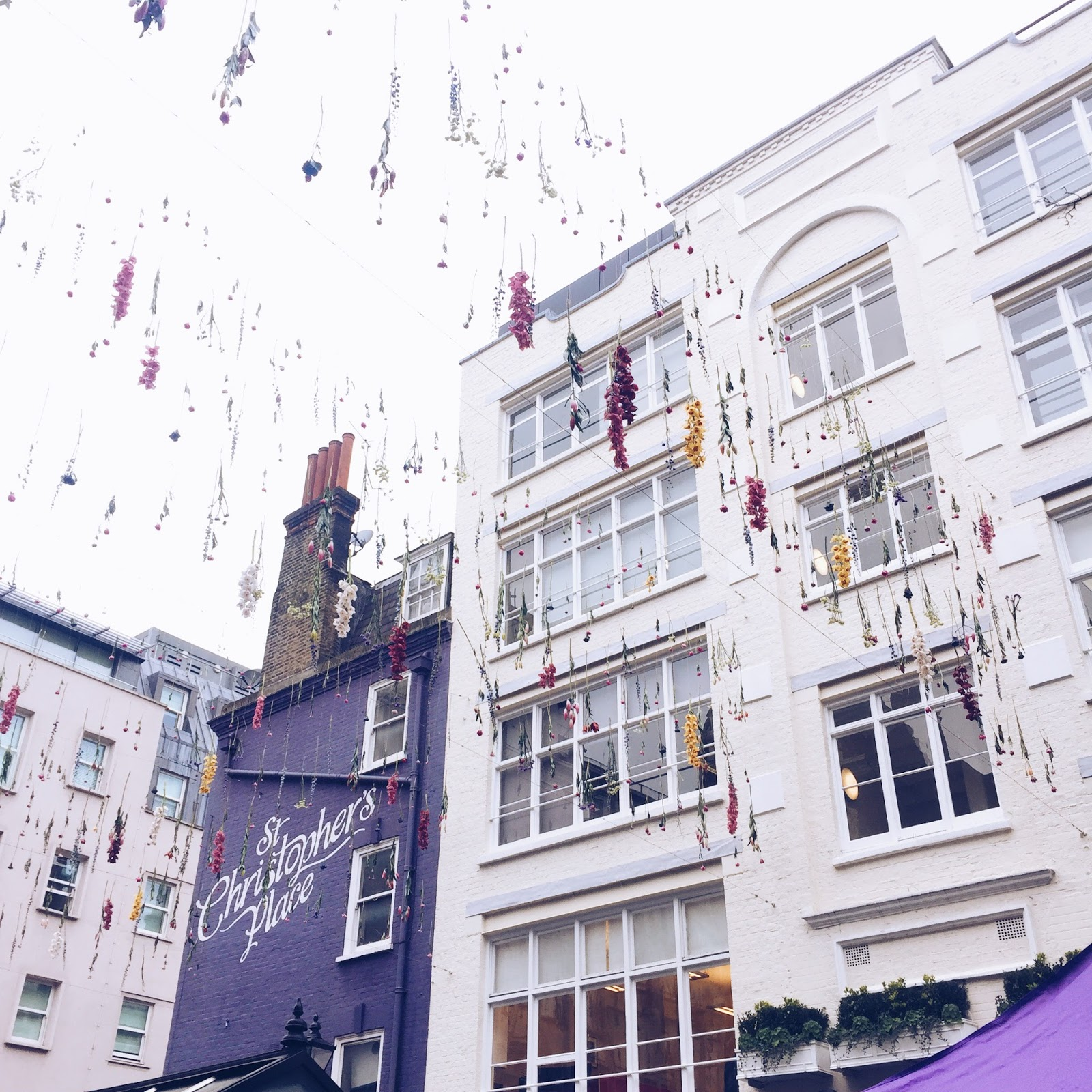 20th Birthday London: A Place For Pieces: Floral Installation