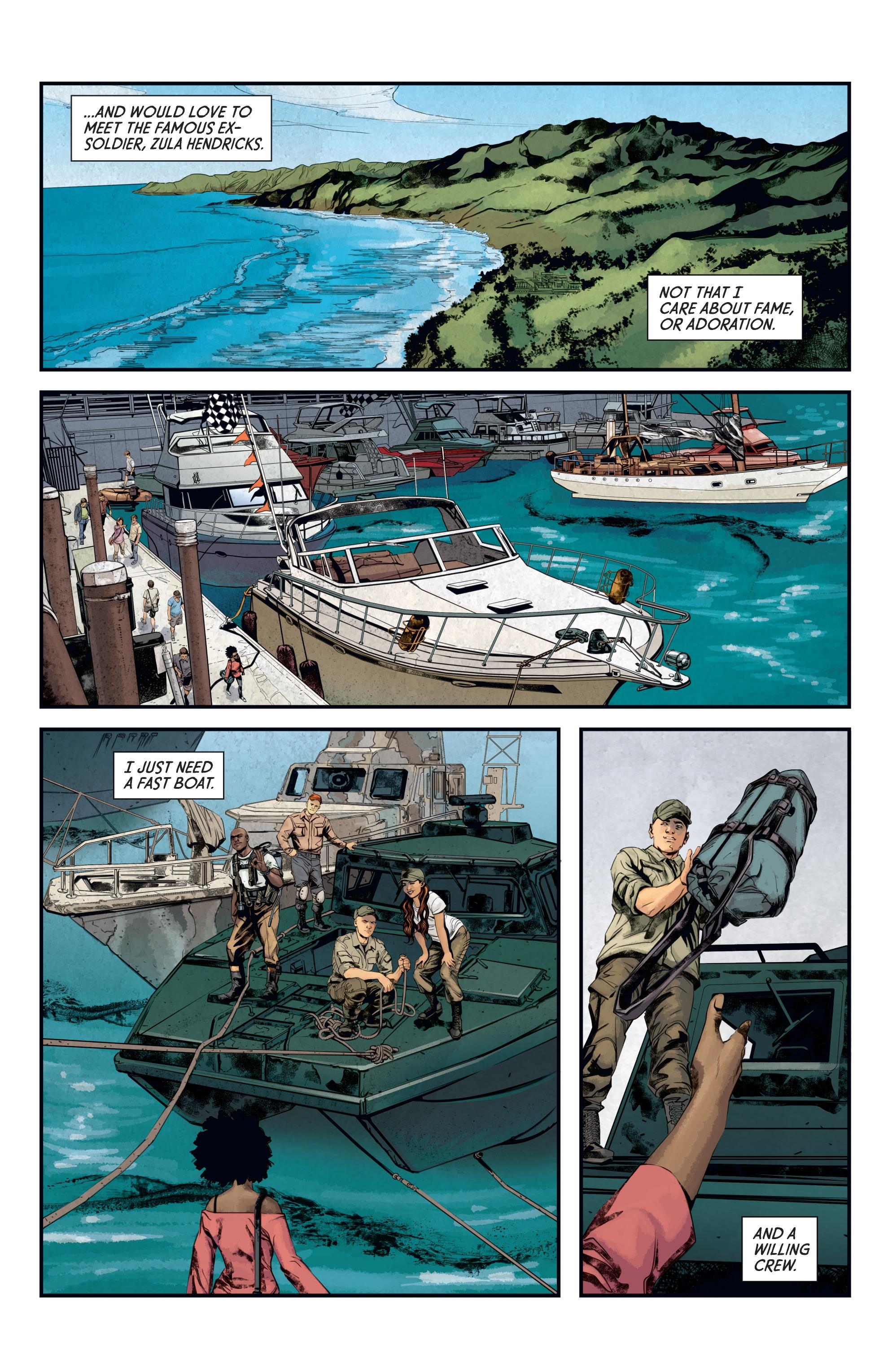 Read online Aliens: Defiance comic -  Issue #12 - 20