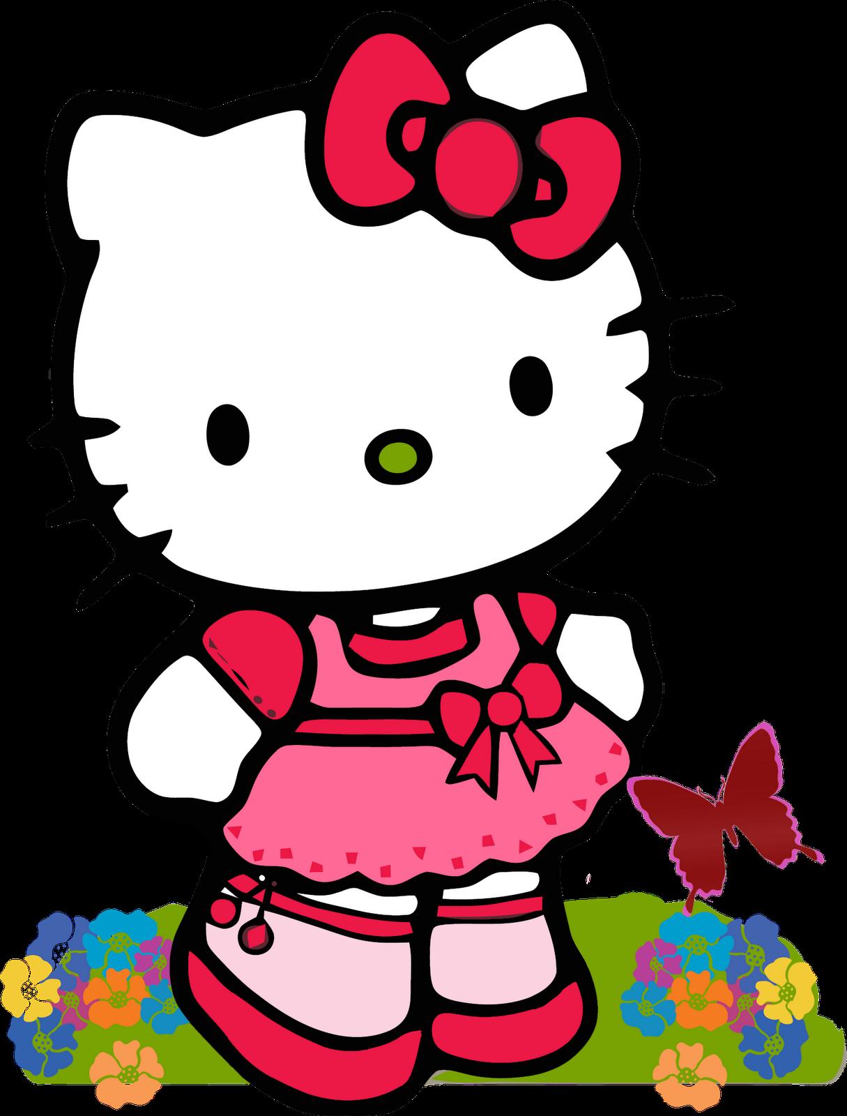 Kumpulan Gambar Kartun Hello Kitty Lucu