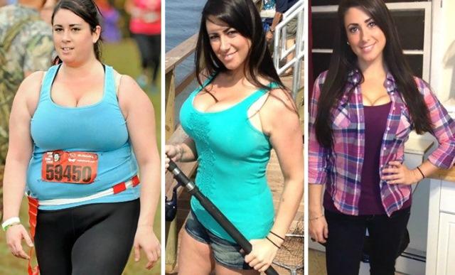 Perdida de peso con una gran fuerza de voluntad