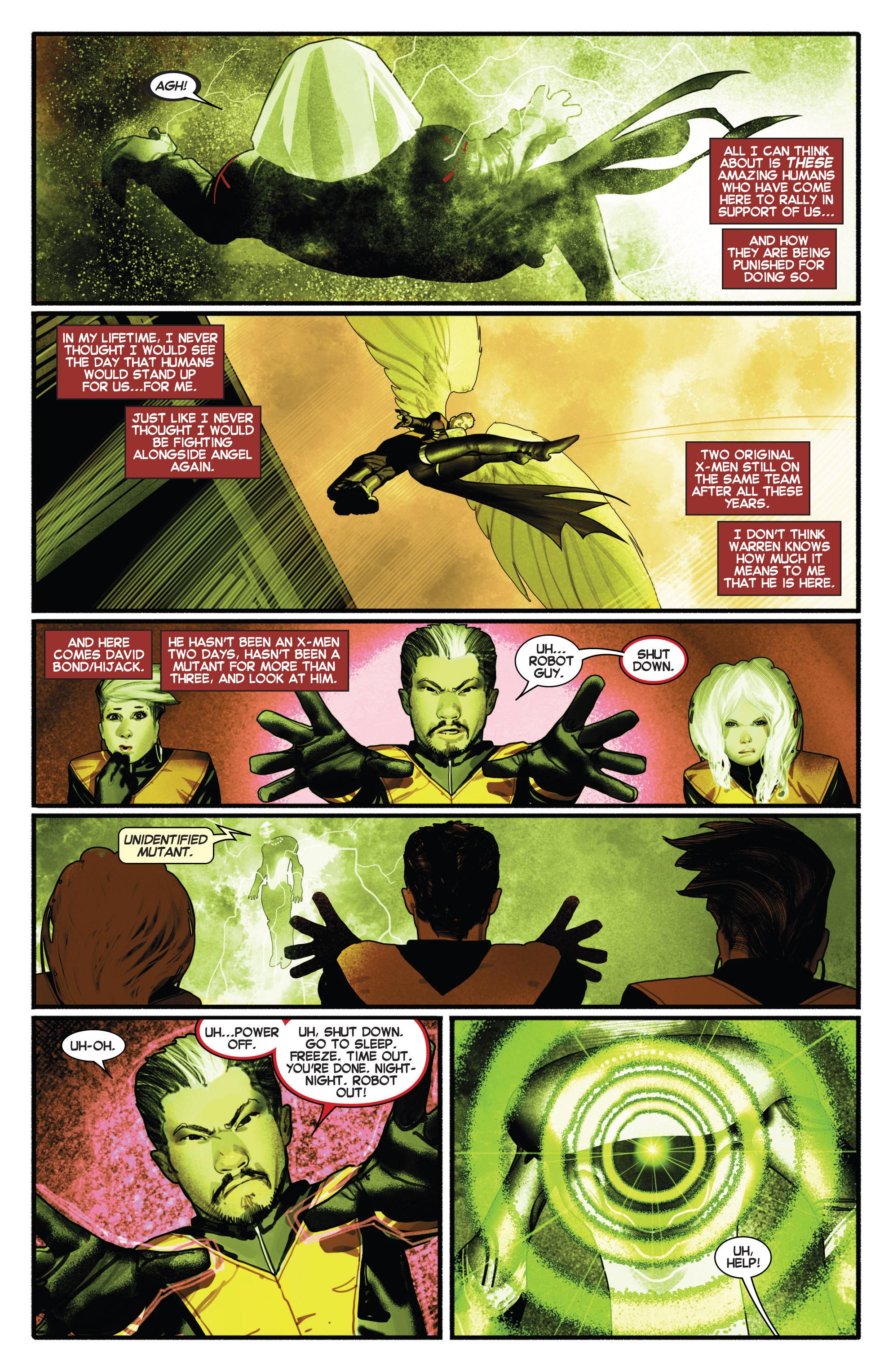 Read online Uncanny X-Men (2013) comic -  Issue # _TPB 2 - Broken - 101