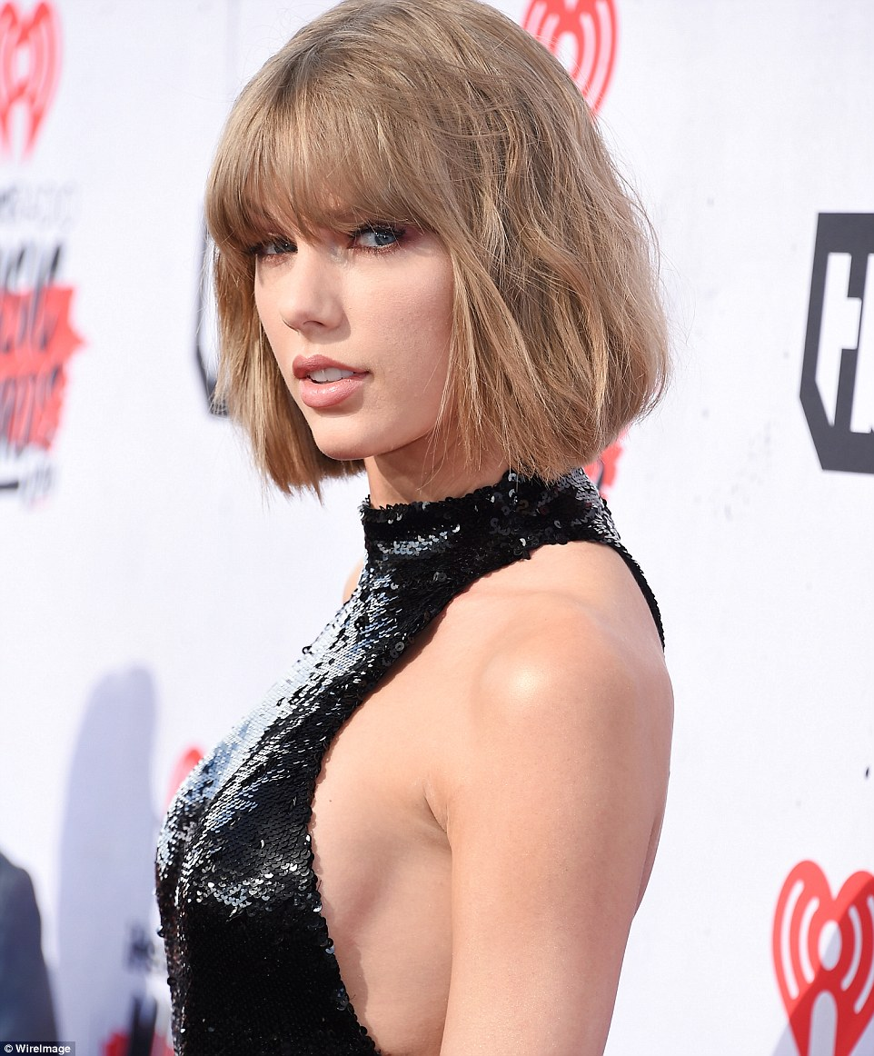 Taylor Swift Wears Sexy Catsuit To The Iheartradio Music