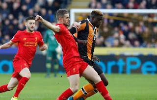Liverpool Kalah 0-2 di Kandang Hull City