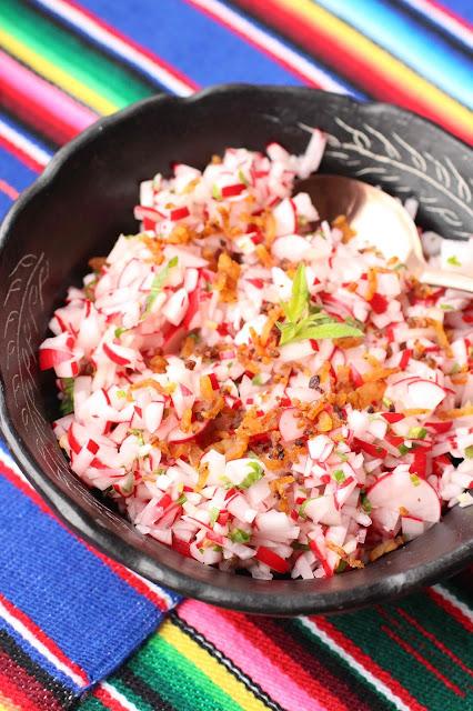 salade de radis guatemala