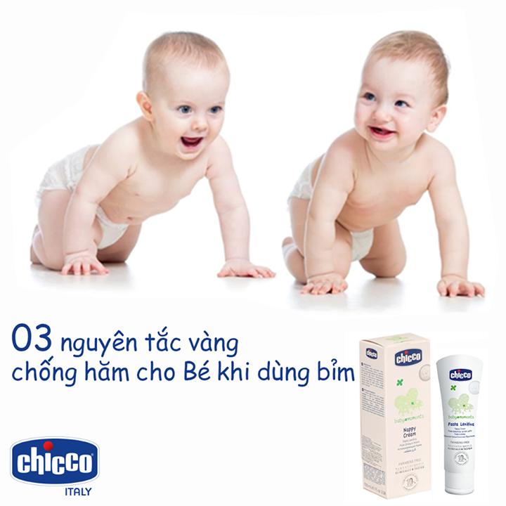 3 nguyên tắc vàng chống hăm cho trẻ sơ sinh