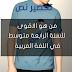 تحضير درس من هو الاقوى للسنة الرابعة متوسط في اللغة العربية ص162 + ملخص