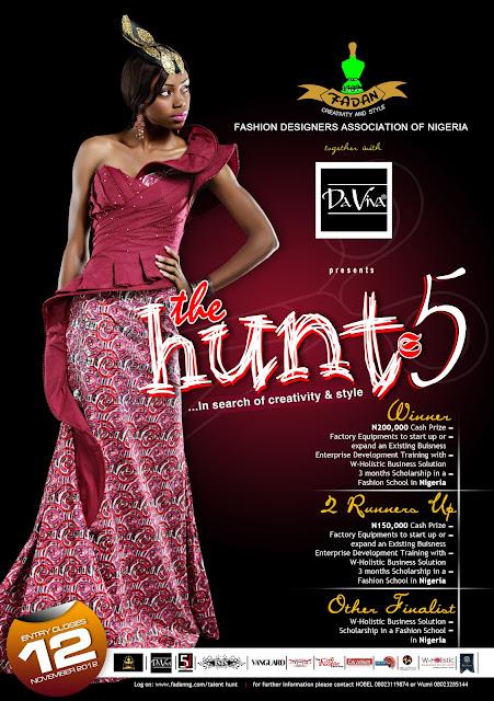 FADAN Talent Hunt 5 – Entry Closes 12 November 2012!