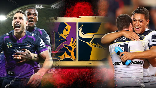 NRL Grand Final: Time, Team List and Watch Storm vs Cowboys