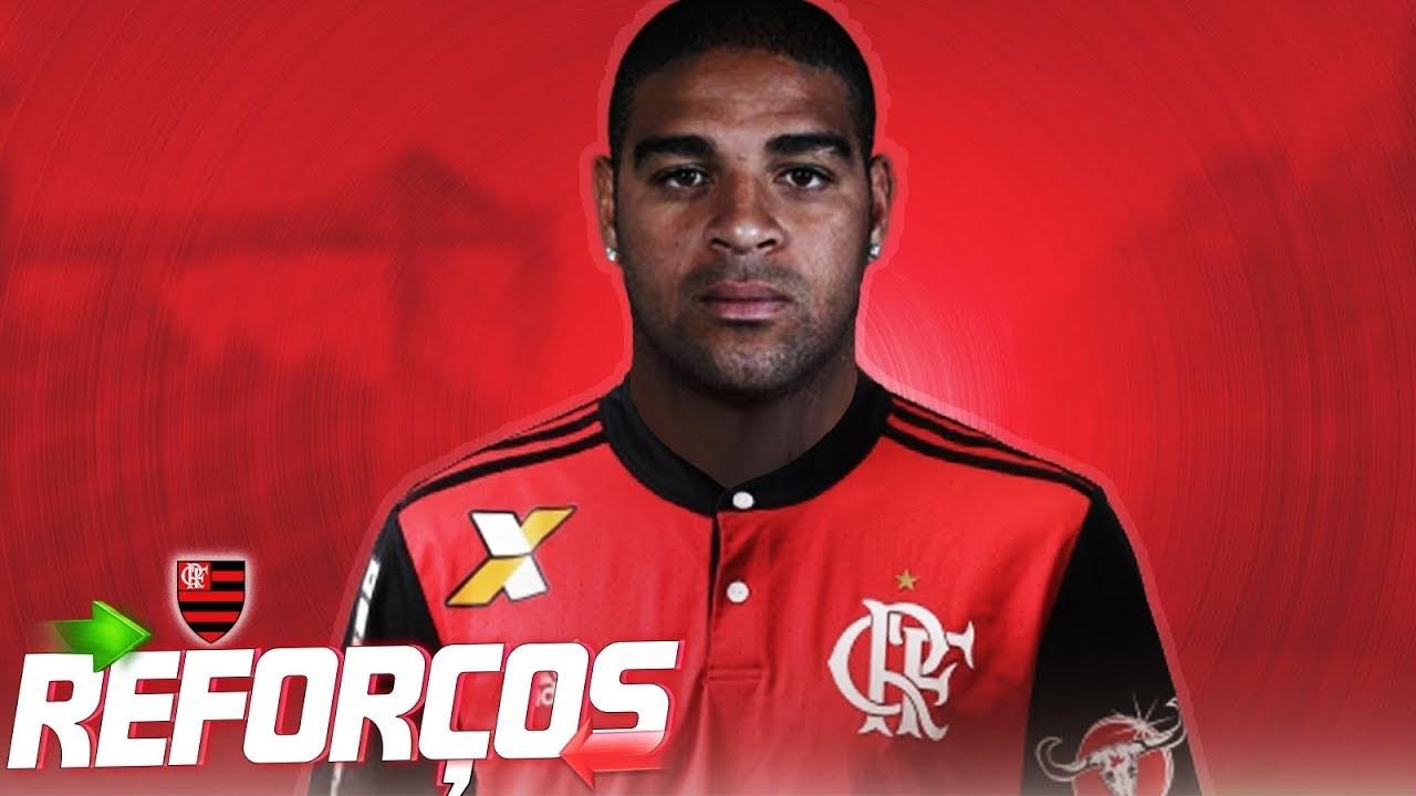 Flamengo Notícias  Adriano Imperador aceita proposta e vai assinar contrato  de 6 meses b9e7b6af27b1d