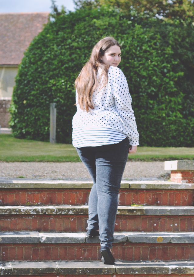 Does not chubby in jeans