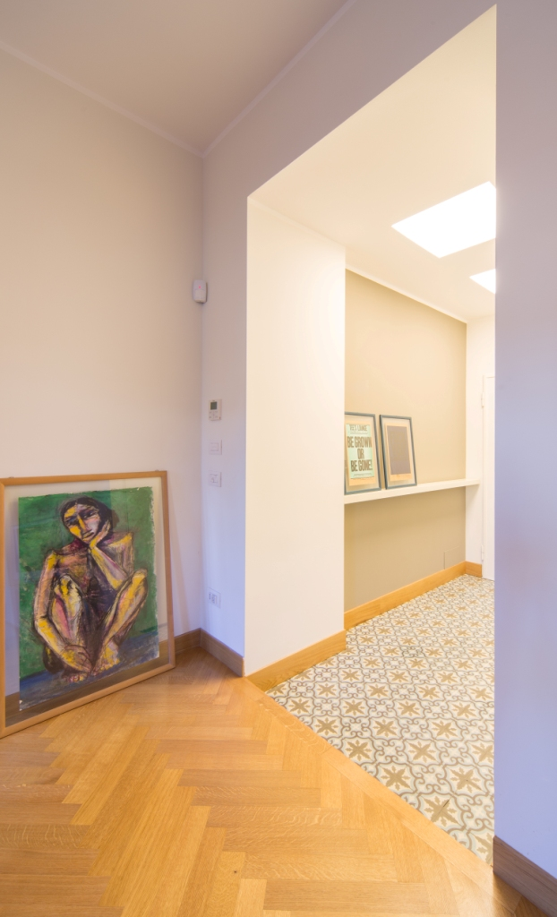 Interior relooking unire due appartamenti adiacenti - Unire due pavimenti diversi ...