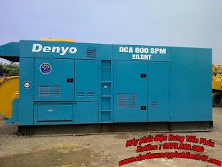 đại lý máy phát điện denyo