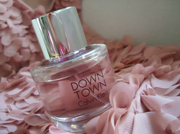 Calvin Klein Downtown Fragrance Keeping Up With Neelofer