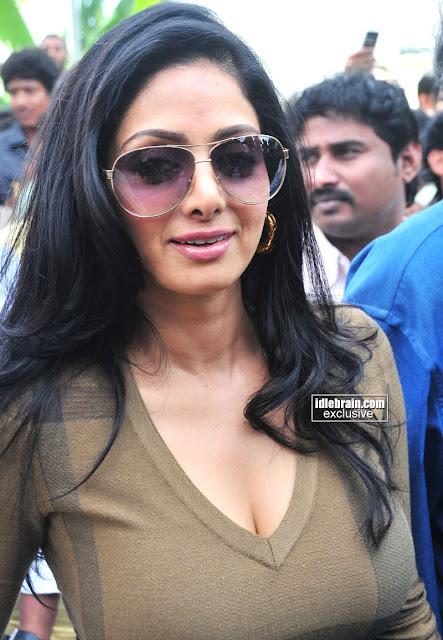 Sridevi Big Boobs Actress Hot Photos