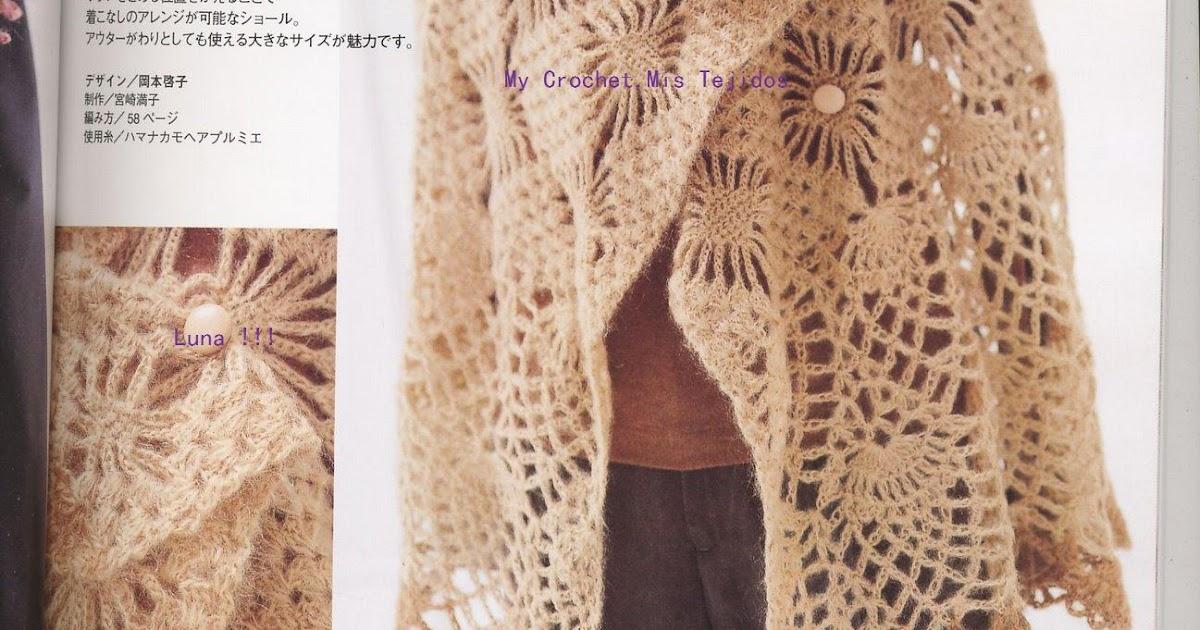 My Crochet , Mis Tejidos by Luna: Shawl o Chal .....y su ...