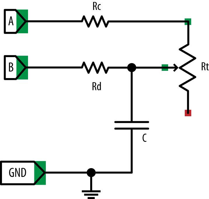 adc circuit raspberry pi analog input circuit on breadboard