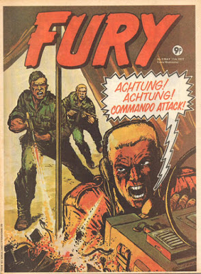 Marvel UK, Fury #9
