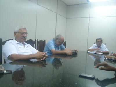 Umberto Amsei , Roberto Fabres e Carlos Jesus Rodrigues (Carlito)na reunião da APPP em 17/02/2016