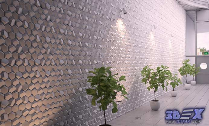 Decorative 3d gypsum wall panels and plaster wall paneling designs