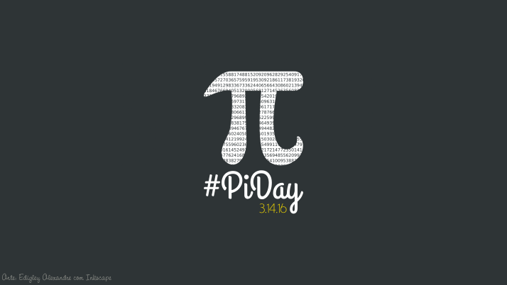 Wallpaper matemático 13: PiDay