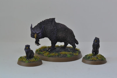 Dungeons and Dragons Owlbear Miniature