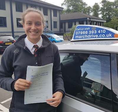 Amy Bruce Practical Driving Test Pass