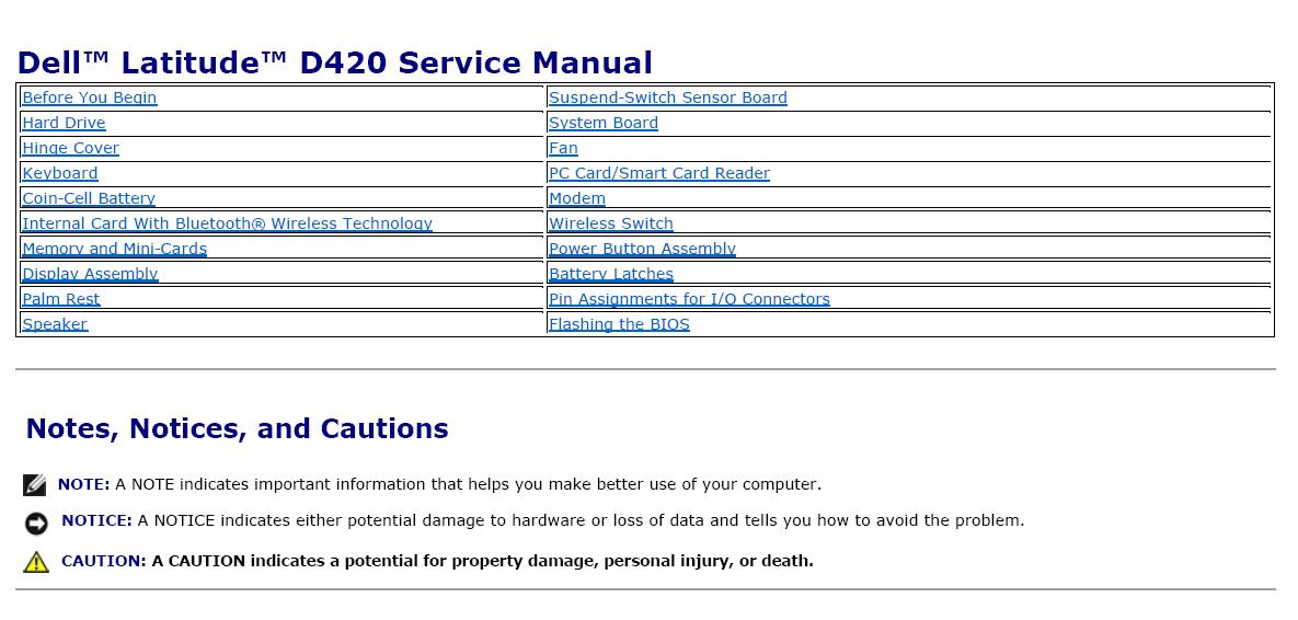 dell latitude e4310 service manual