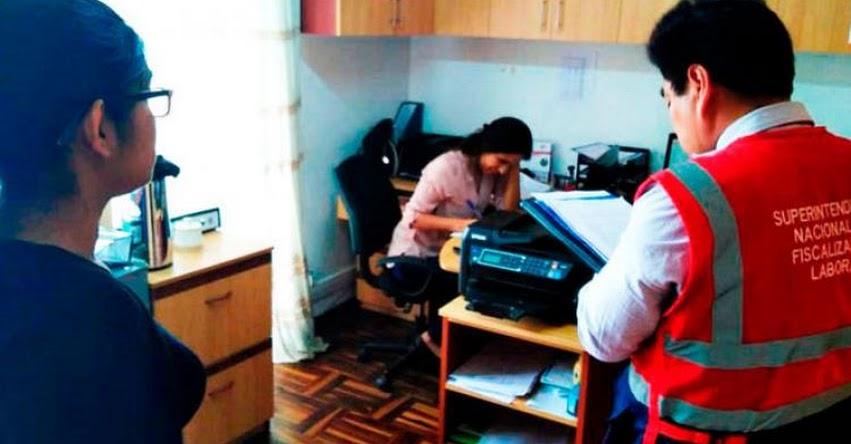 SUNAFIL detecta más de 300 trabajadores informales en Educación en La Libertad - www.sunafil.gob.pe