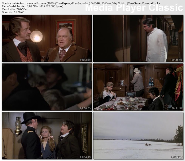 Secuencias de la película:  Nevada Express | 1975 | Breakheart Pass