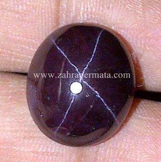 Batu Permata Star Garnet + Memo - ZP 547