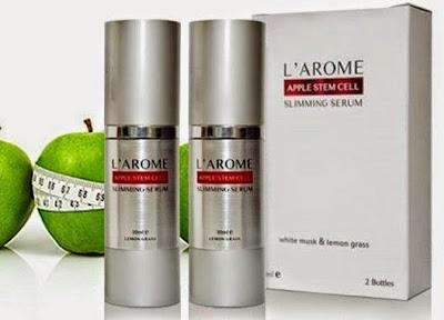 beli l'arome slimming serum di bandung
