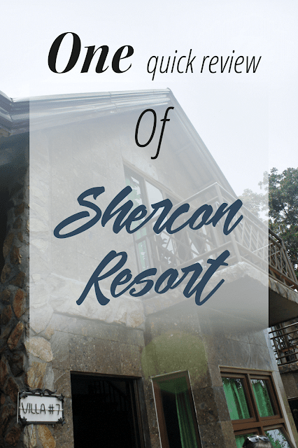 One quick review of Shercon Resort in Batangas, Philippines