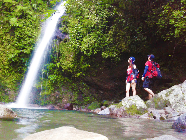 The Beauty of 7 Falls or Busay Falls