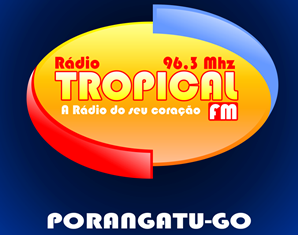 Rádio Tropical FM de Porangatu GO (antiga Tropical AM 850) ao vivo