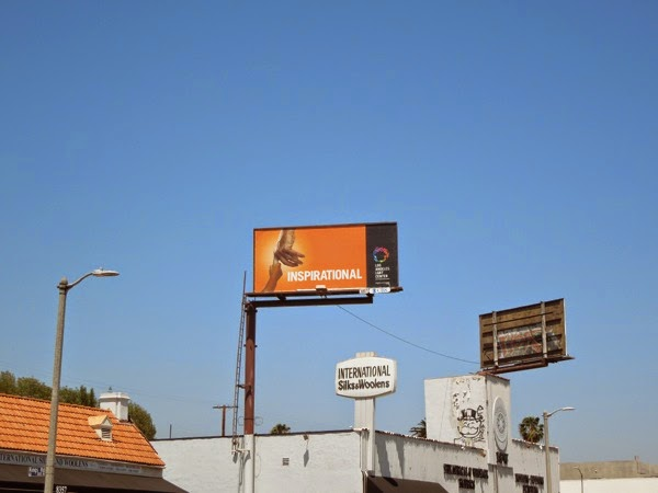 Inspirational Los Angeles LGBT Center billboard