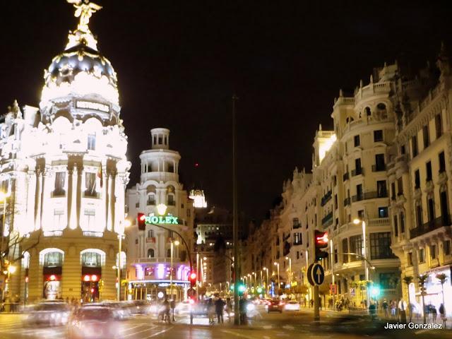 Calle Gran Vía - Madrid