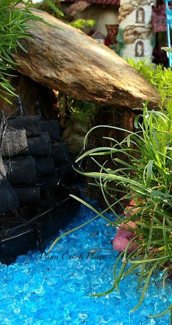 Fairy Garden,  Raised container Gardening,