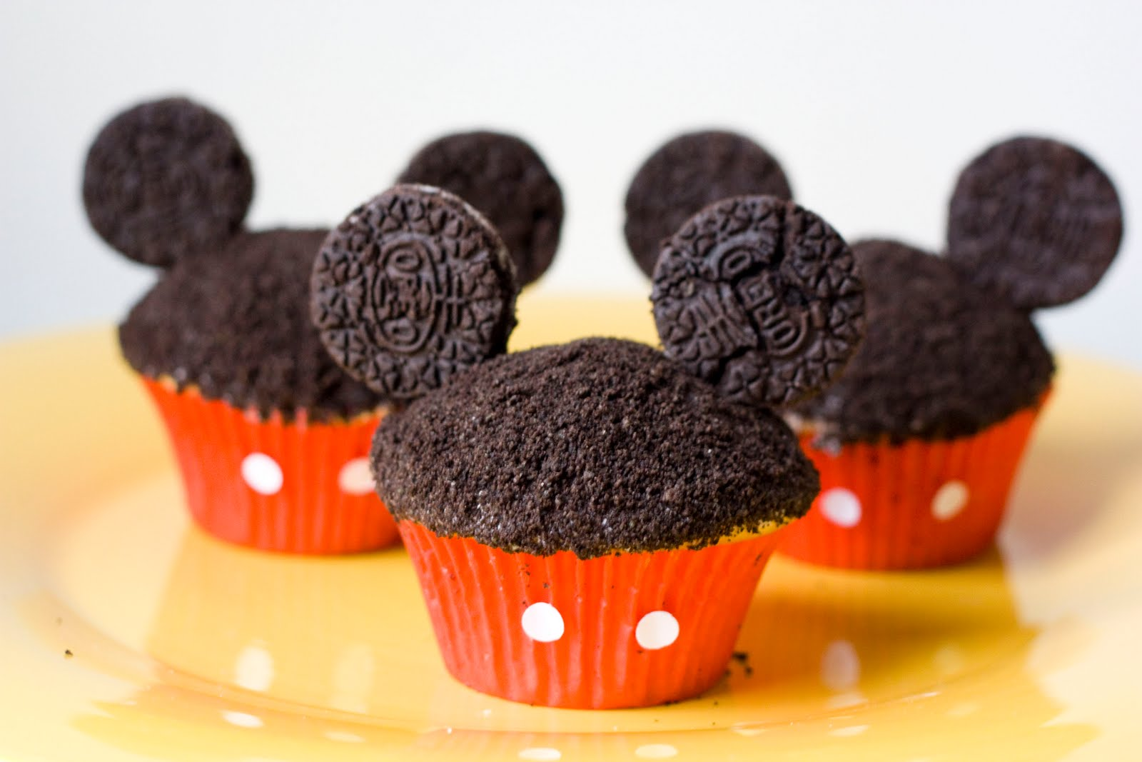 Mickey Mouse Oreo Cupcakes Magical Day Parties A Fan Site Image By