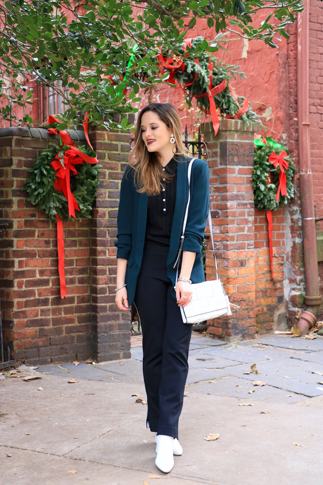 Nyc fashion blogger Kathleen Harper's 2018  holiday party outfit ideas