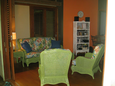 Roatan vacation rental living room