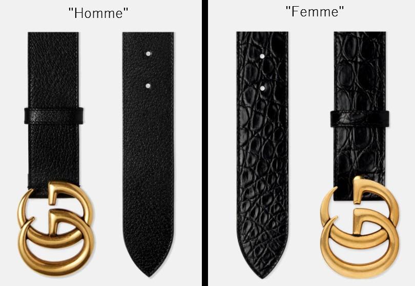 031c286d8684 Et l inverse est vrai aussi   des ceintures pour hommes lisses avec le bout  arrondi. Exemples