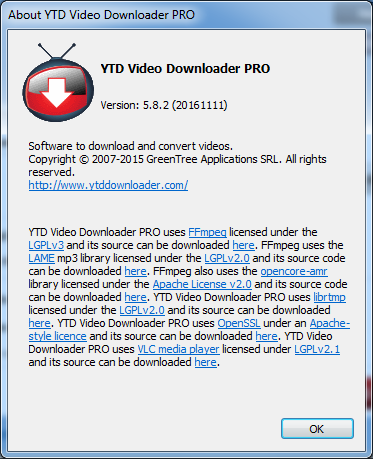 YTD Video Downloader 5.8.2 PRO Crack