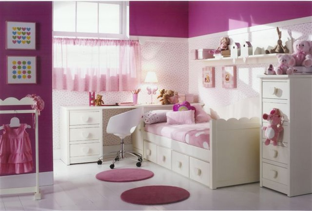 Marzua consejos sobre c mo decorar un dormitorio infantil - Como amueblar un dormitorio pequeno ...